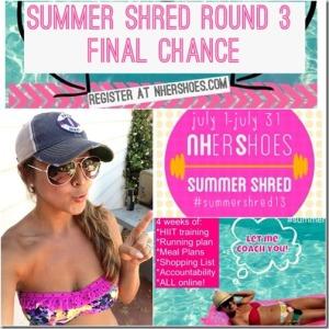 Bobbi McCormick's Summer Shred